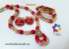 Silk Thread Jewellery with Loreals