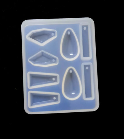 Geometrical shapes Earring Silicone Mold molds For Resin Crafts and Jewellery Making