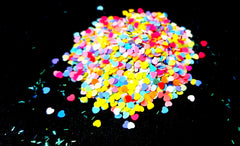 heart glitter for resin