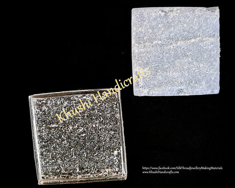 Square Druzy insider mat molds for Resin Crafts -Silicone Moulds