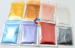 Mica Pearl Pigment Powder Mega combos for resin crafts