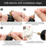 Mini USB Small Electrical drill for Resin Crafts