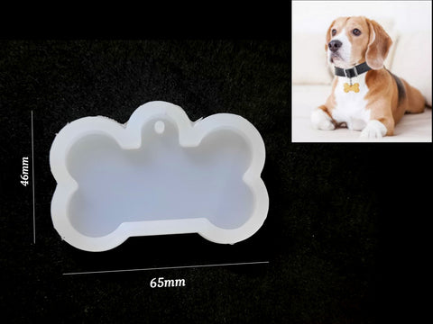 Dog bone Tag Silicone Mold For Making Resin Jewellery