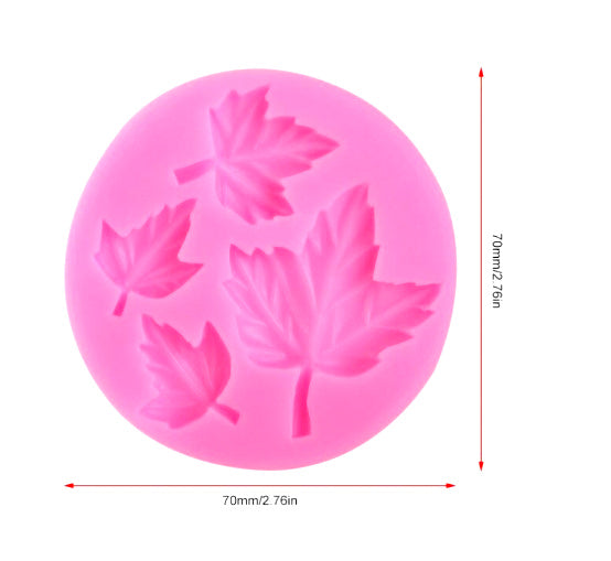 Maple Leaf Silicone Mold For Making Resin Necklace Pendant Jewellery