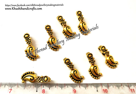 Kolhapuri Beads Antique Gold Pattern 27.Sold Per piece!