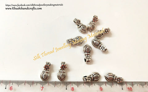 Kolhapuri Beads Antique Silver Pattern 30.Sold Per piece!