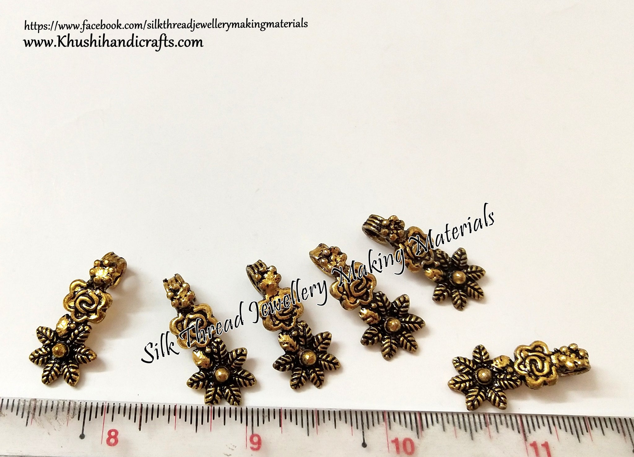 Gold kolhapuri Beads