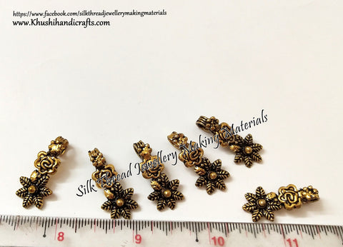 Kolhapuri Beads Antique Gold Pattern 31.Sold Per piece!
