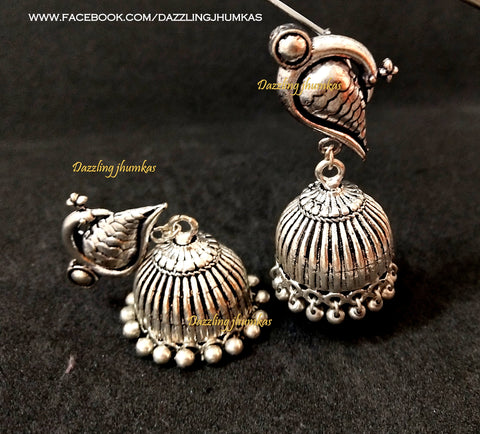ae95f1972 Buy German silver Jewellery - Jhumkas/ Nose-pins /Anklets/ Necklaces ...
