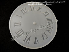 Big 12 inch Clock Silicone Mold