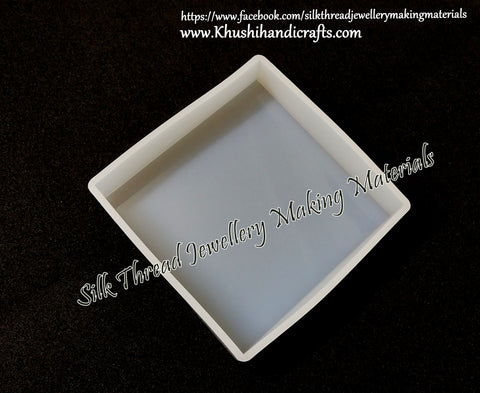 10cm *10cm Big Square Mould Silicone Mold for casting UV Resin,Epoxy resin and concrete