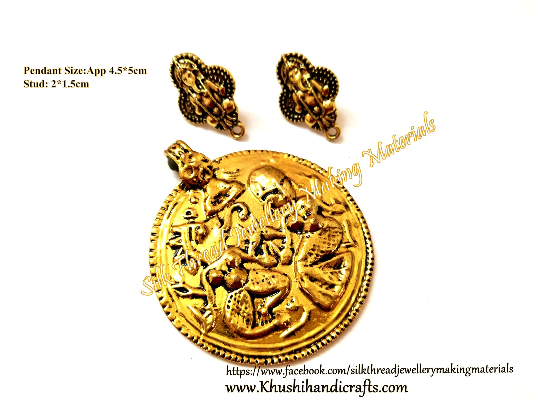 Antique Pendant stud