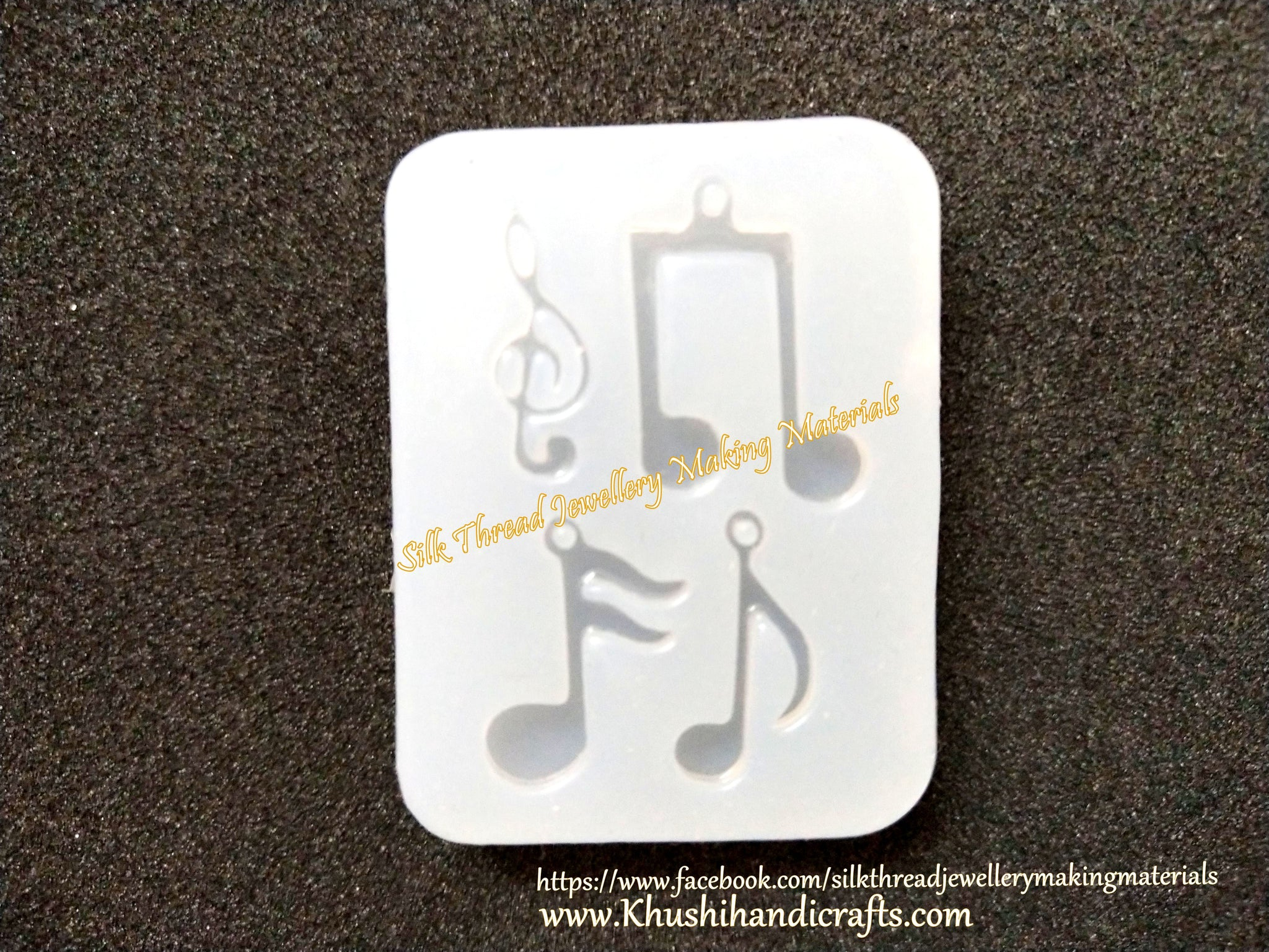 Musical notes silicon mould mold
