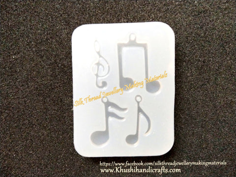 Musical notes Mould Silicone Mold For Resin Crafts