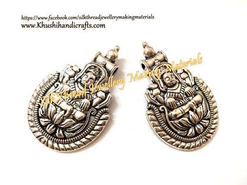 Antique Silver Goddess Designer Pendant .Sold per piece!P045