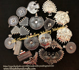 Silver Oxidised Pendants Jewellery making materials