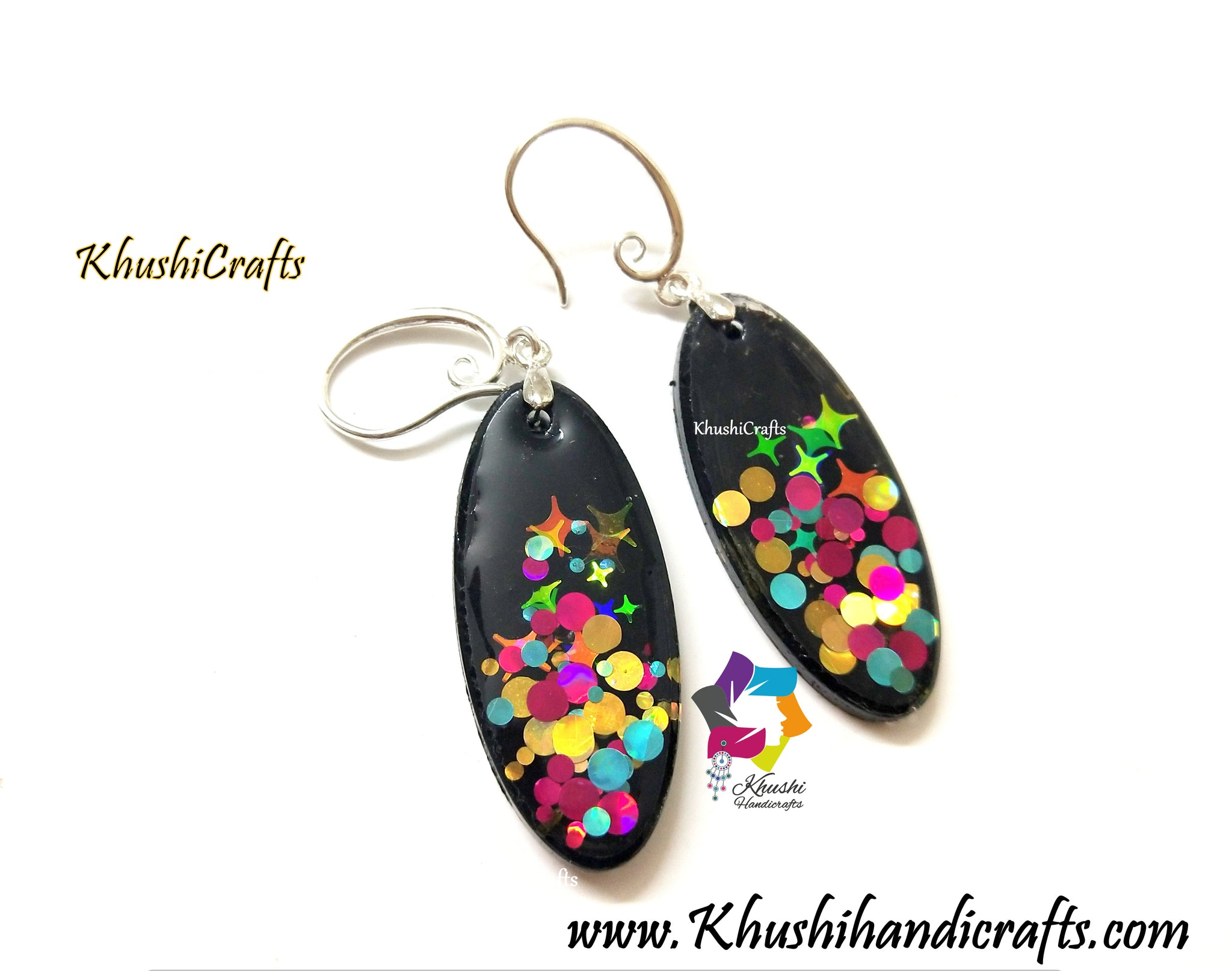 Resin Earrings Jewelry