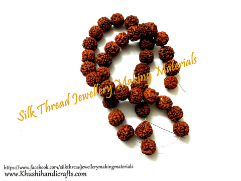 Rudraksha Beads for Jewellery Making