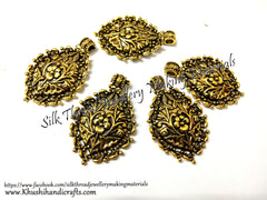 Antique Gold Designer Pendant P060