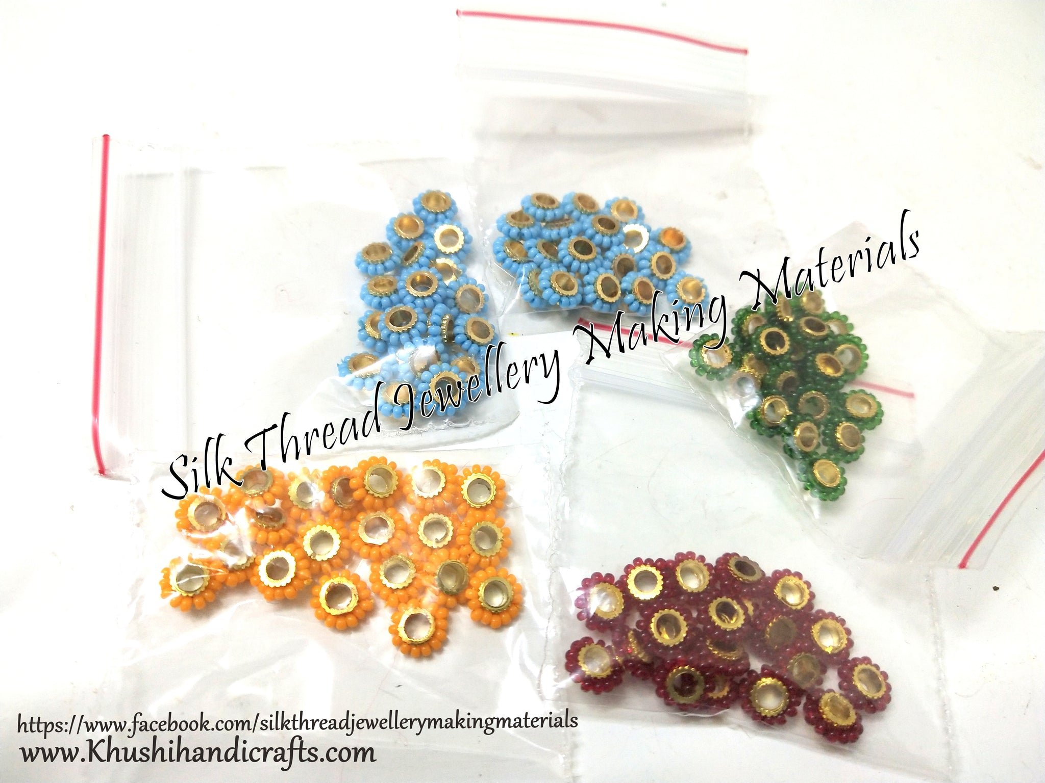 Assorted Mixed Chakri spacer combo