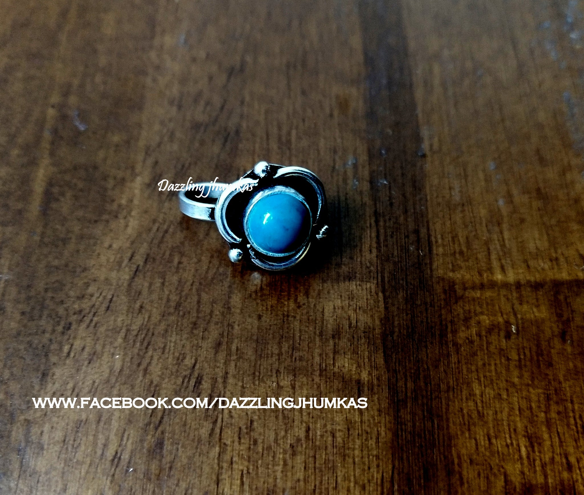opal nose pin ring