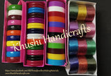 Plastic bangles for silk thread jewellery making