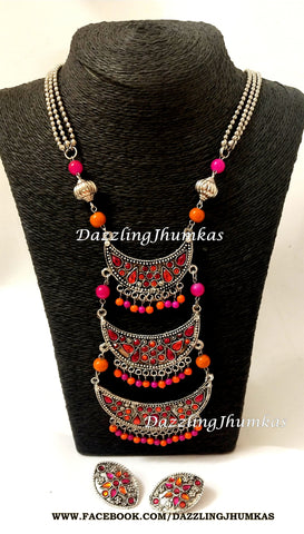 Afghani Jewellery Necklace
