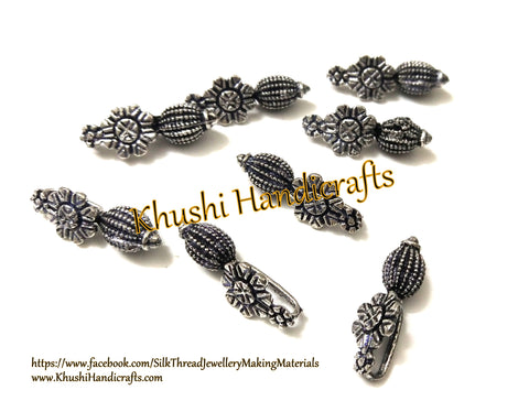 Kolhapuri Beads Antique Silver Pattern 34.Sold Per piece!