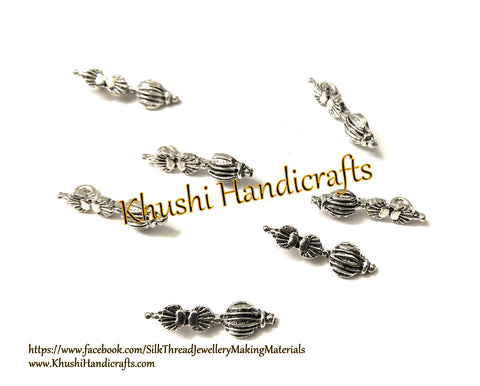 Kolhapuri Beads Antique Silver Pattern 36.Sold Per piece!