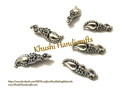 Kolhapuri Beads Antique Silver Pattern 35.Sold Per piece!