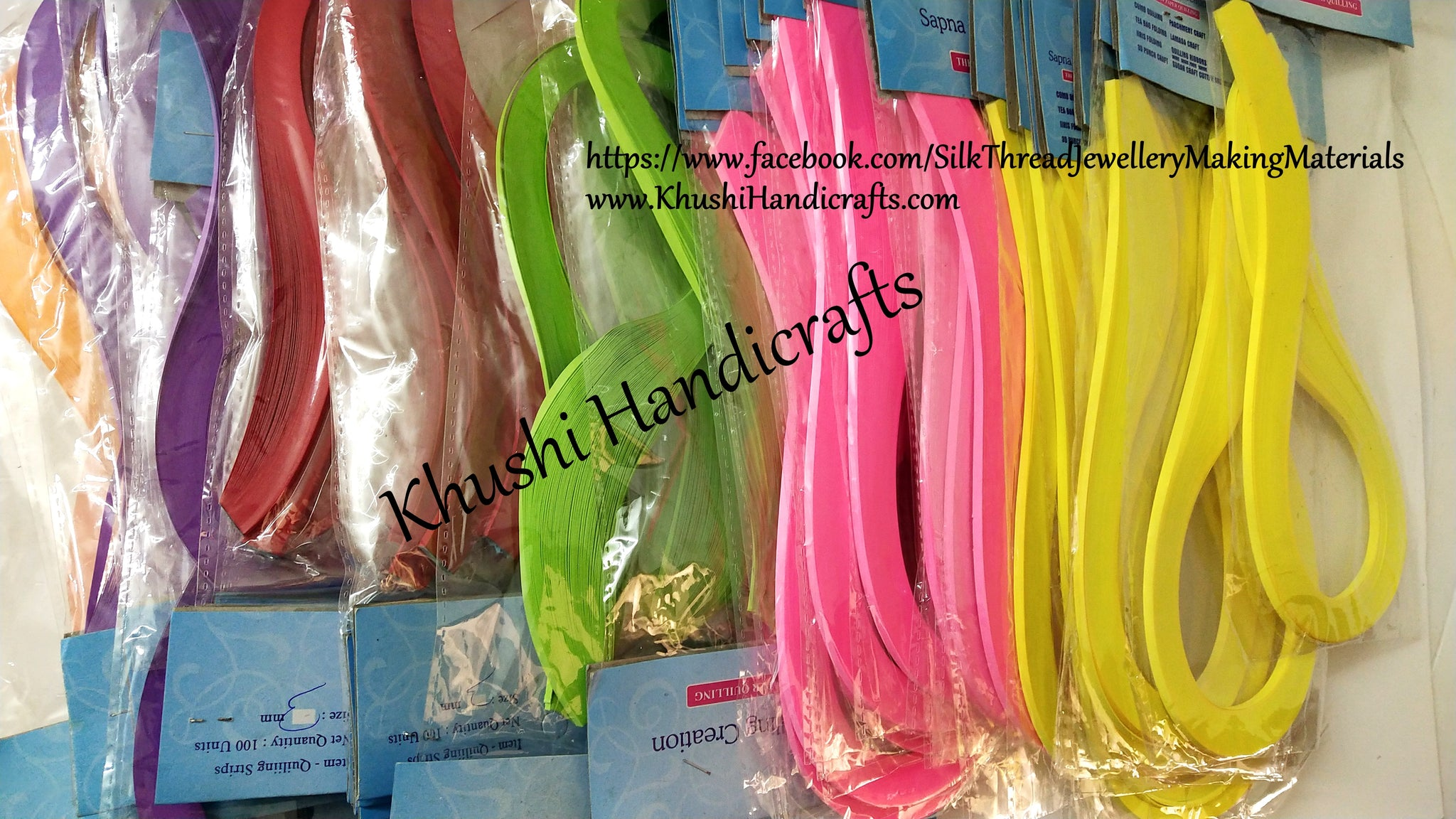 Quilling strops 3mm