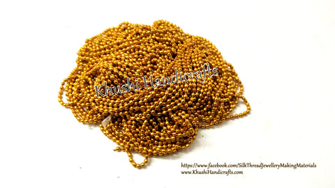 Gold ball chain-Size 1