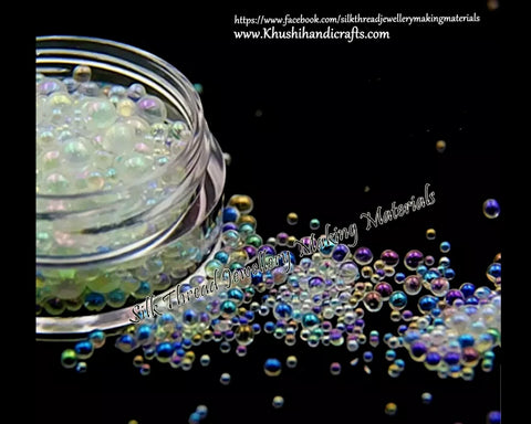 Bubble beads For Resin Crafts ,Jewelry Mold Filling and Nail art