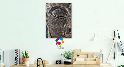 Mixed Media Buddha Painting