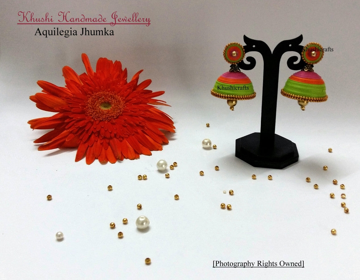 Quilling Quilled Jhumka