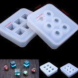 Round Ball and Cube Silicone Mold Combo For Making Resin Bracelet Necklace Pendant Earring Jewellery