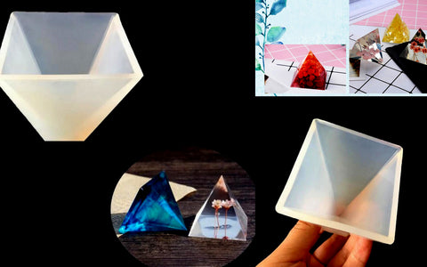 Pyramid Silicone Mold For Resin Crafts
