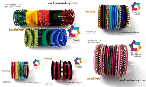 Ready stock Silk Thread Bangles-Pre Diwali Sale!