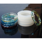 Bangle Silicone Mold for Jewelry Making Bracelet Bangle Mould - UV resin and epoxy resin casting