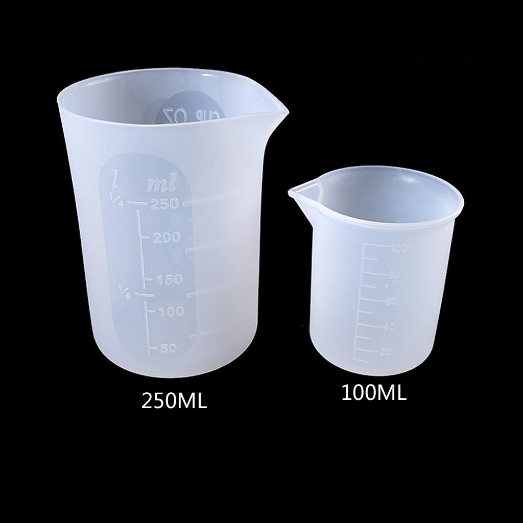 Silicone beaker cups