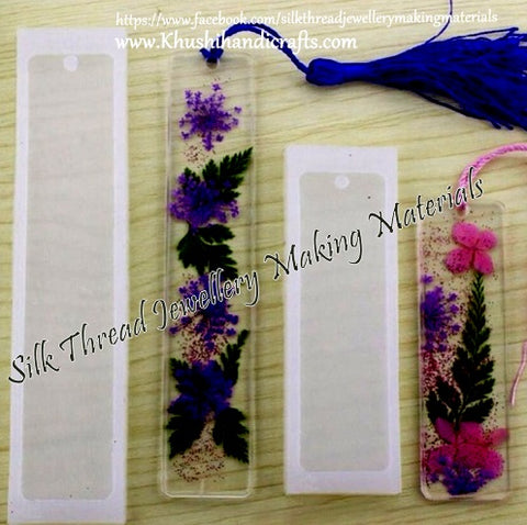 Rectangular Bookmark Mould Silicone Mold