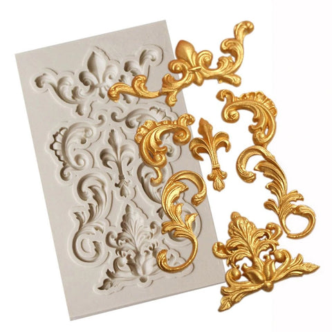Border Silicone Mold For Resin Crafts