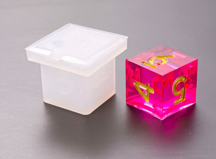 Dice game mold mould