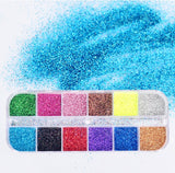 12 Sets  Holographic Glitter Powder for resin crafts!