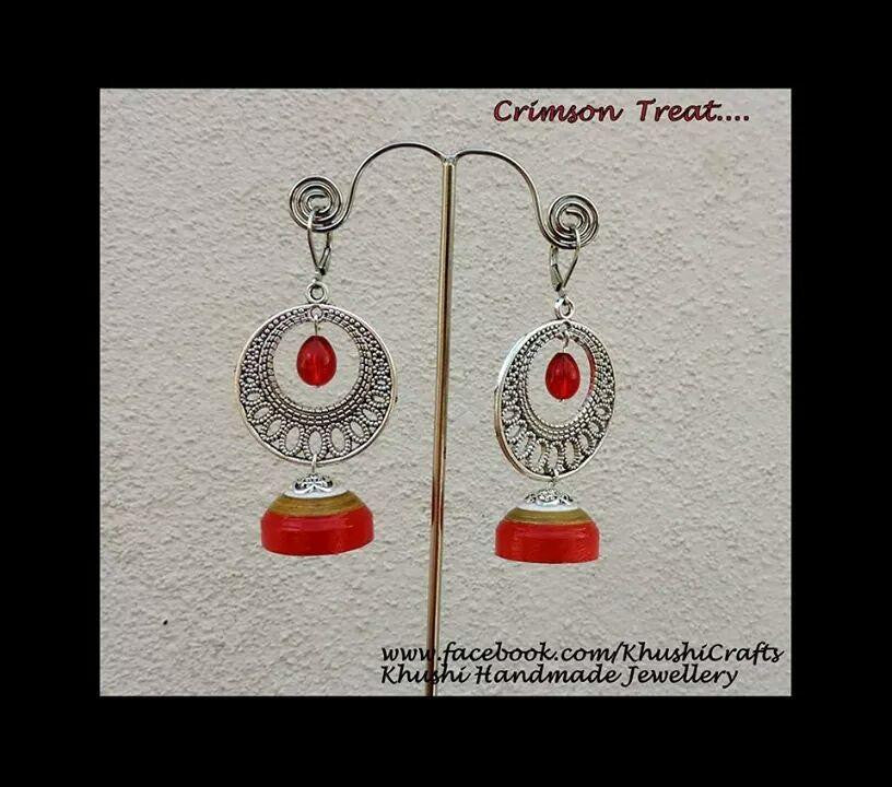 Crimson treat - Khushi Handmade Jewellery
