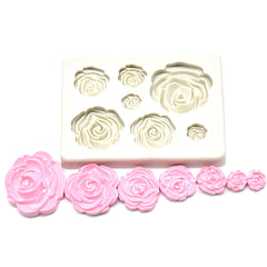 Flower rose mold