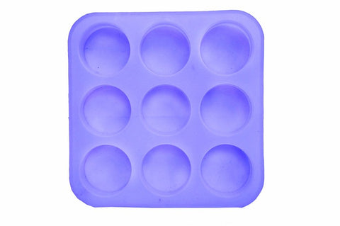 Round Mould silicone mold for Resin crafts and Soap making