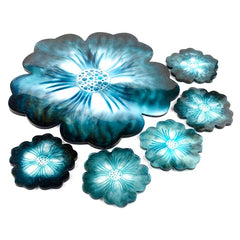 Flower tray coaster Plate Silicone Mold  For Resin crafts and Cement crafts