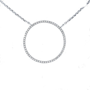 Diamond  'Love' Necklace - Gemma Stone Jewellery