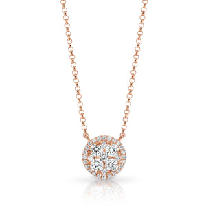 Rose Gold & Diamond 'Barbados' Necklace - Gemma Stone  ABN:51 621 127 866
